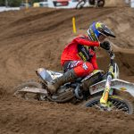 Injury For Kay De Wolf During Final EMX250 Round At Lommel